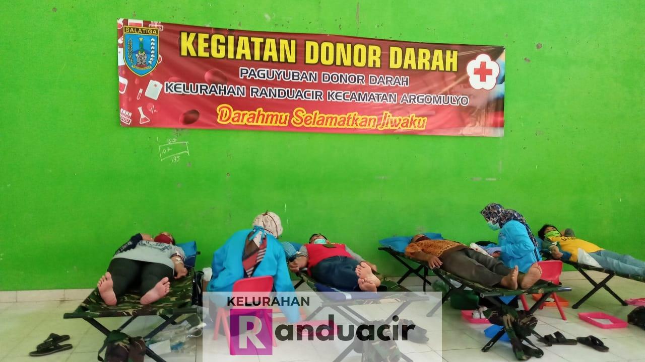 Kegiatan Donor Darah di Bulan Juni 2020