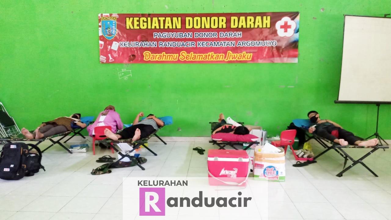 Kegiatan Donor Darah di Bulan September 2020