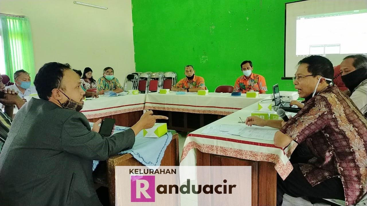 Rapat Kegiatan Pra Musrenbang Kelurahan Randuacir Tahun 2021