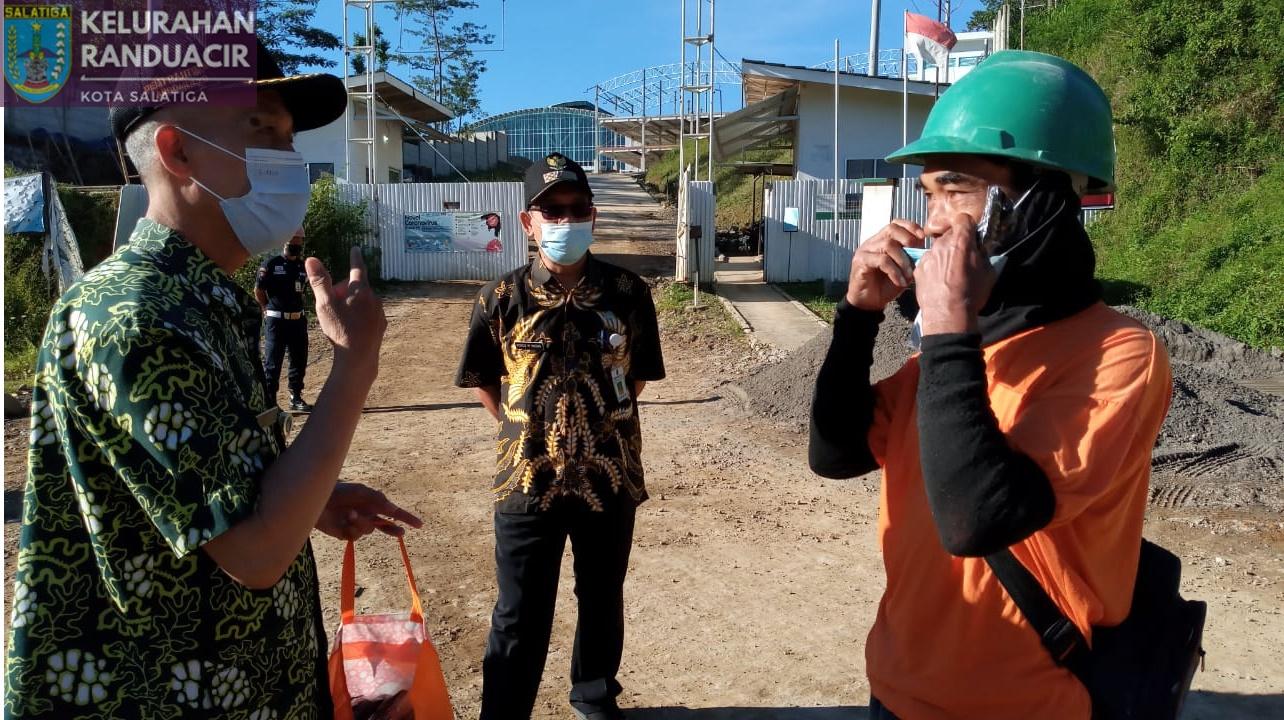 Operasi Masker di Proyek PT Selalu Cinta Indonesia