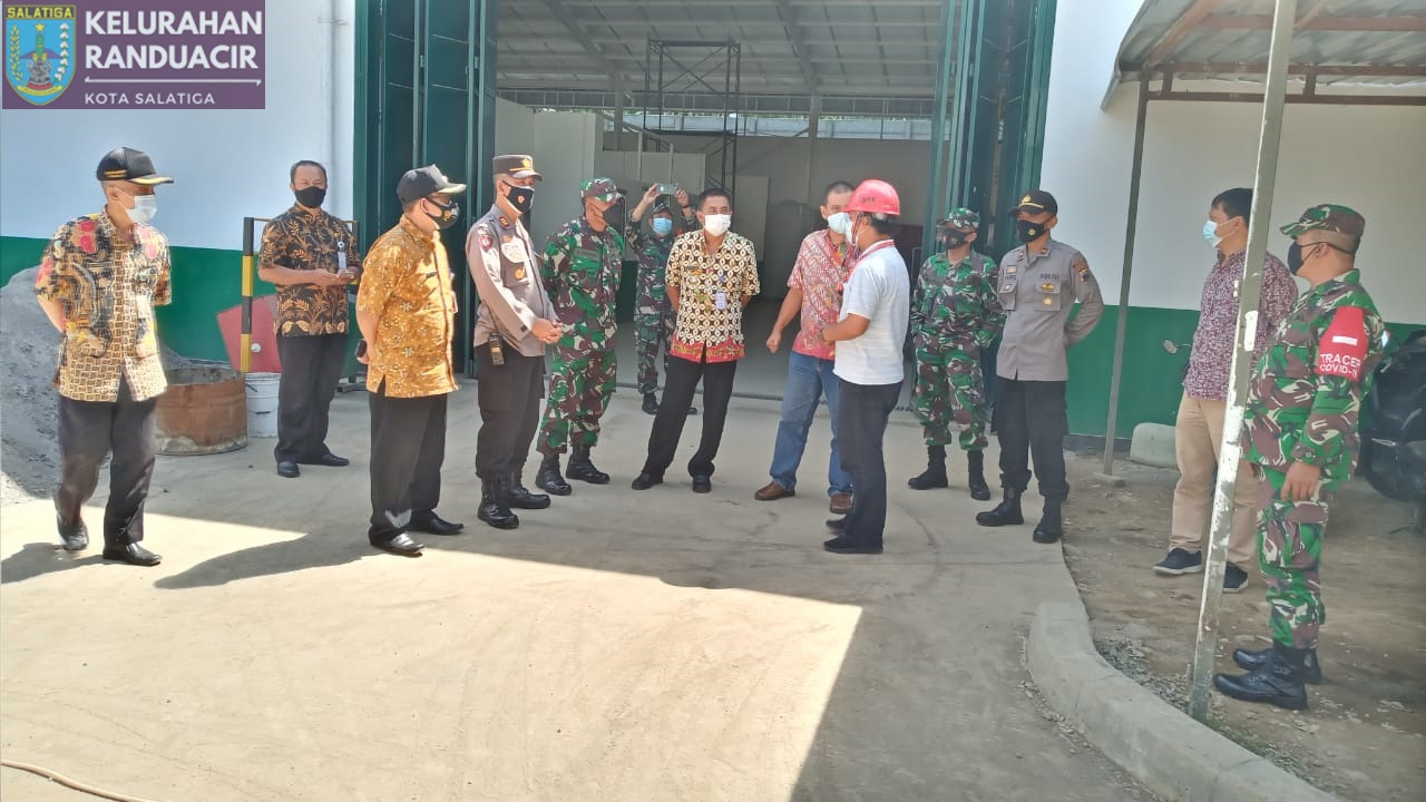 Giat Sidak bersama 3 Pilar di Lingkungan Proyek PT Selalu Cinta Indonesia